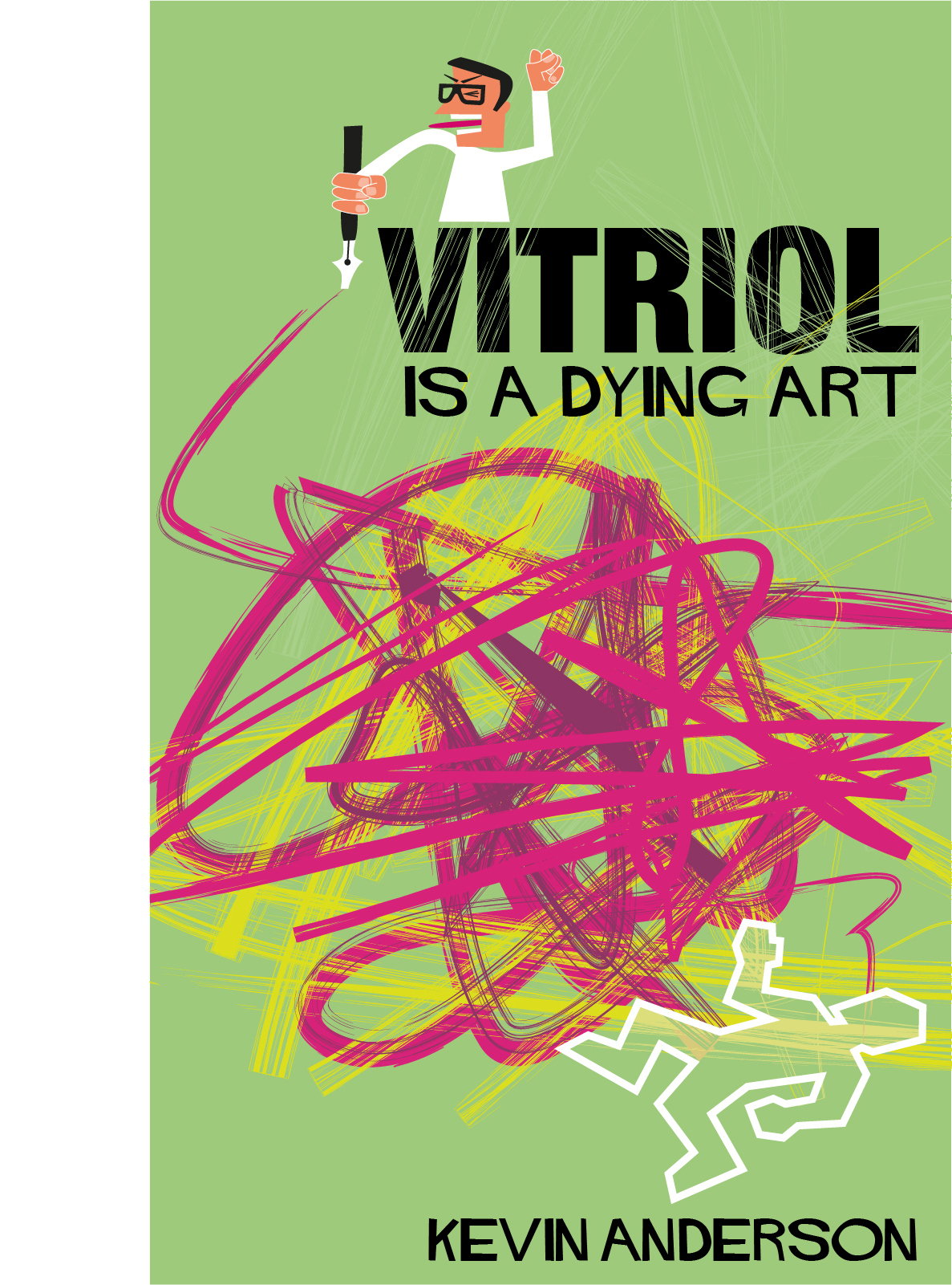 Kindle Book Cover Art : Vitriol is a dying art kate parsons