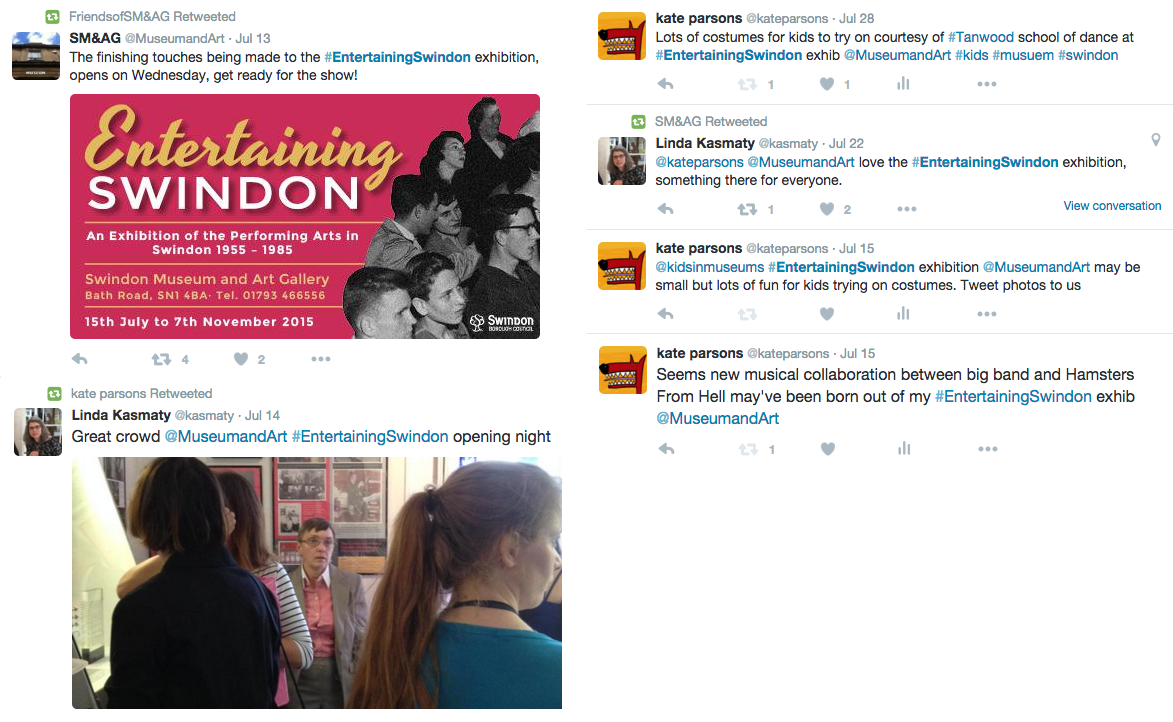 social media, twitter, exhibition, publicity, marketing